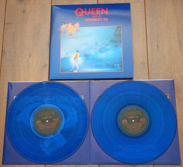 Live at Wembley '86 2Lp Ed. Limitada vinilos azules