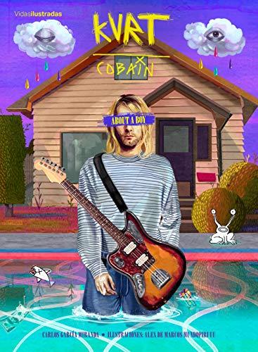 Kurt Cobain. A boy