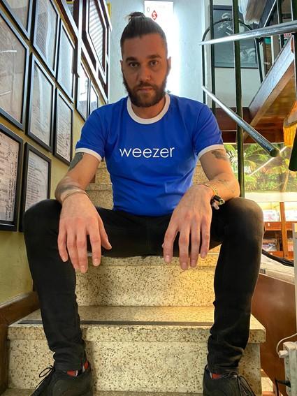 Camiseta Weezer
