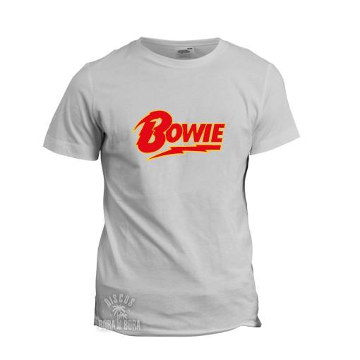 Camiseta Bowie blanca