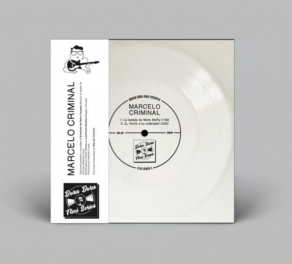 La balada de Marty McFly / JL, frente a su ordenador Flexidisc