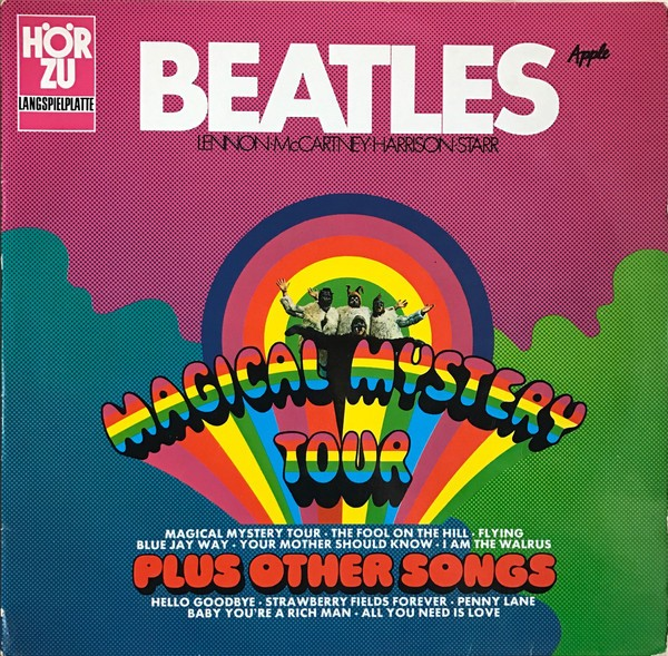 Magical Mystery Tour plus other songs Lp