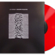 Unknown pleasures Lp Ed. Limitada vinilo color rojo