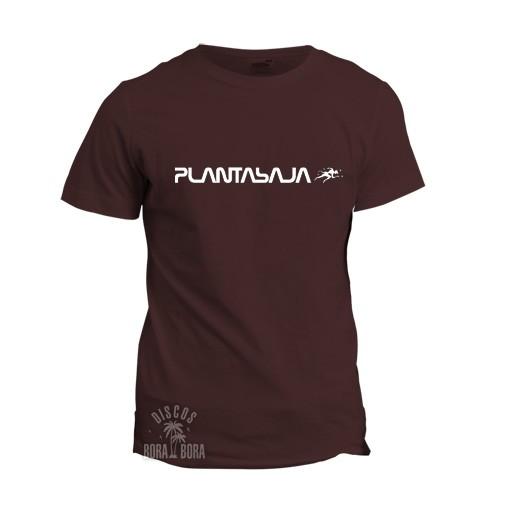 Camiseta Planta Baja chica burdeos