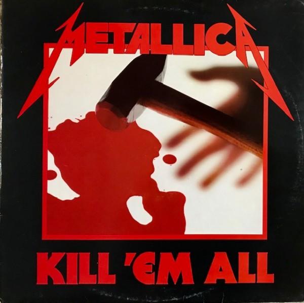 Kill'em all Lp Segunda mano
