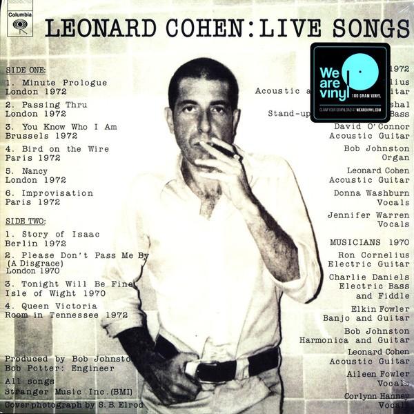 Live songs Lp