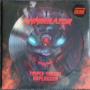 Triple threat unplugged Picture disc Lp RSD2020