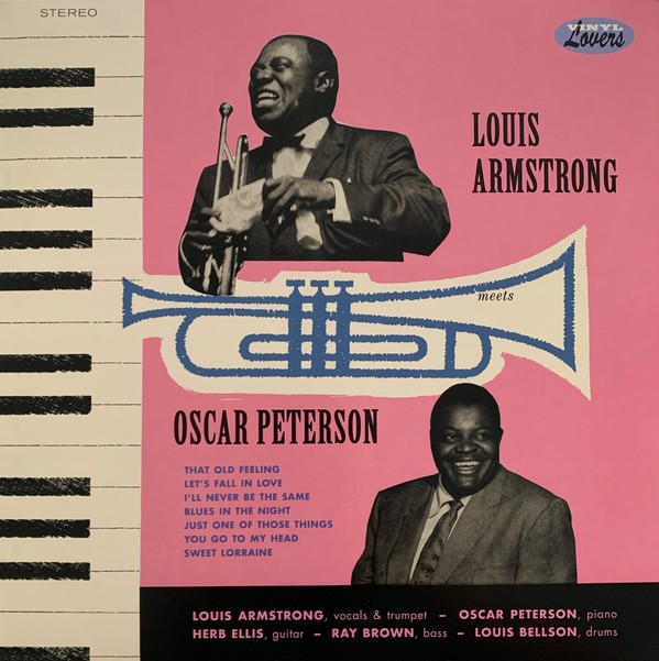 Luis Armstrong meets Oscar Peterson Lp