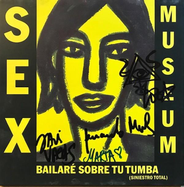 Bailaré sobre tu tumba / Have love will travel Single FIRMADO