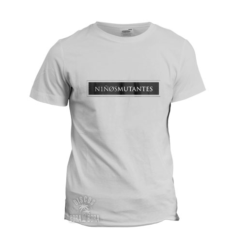 Camiseta Niños Mutantes blanca DIEZ