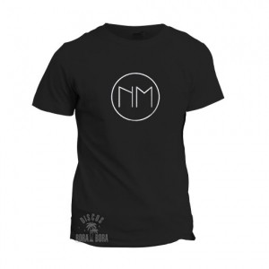 Camiseta Niños Mutantes negra logo