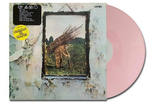 IV Lp Ed. limitada vinilo color rosa