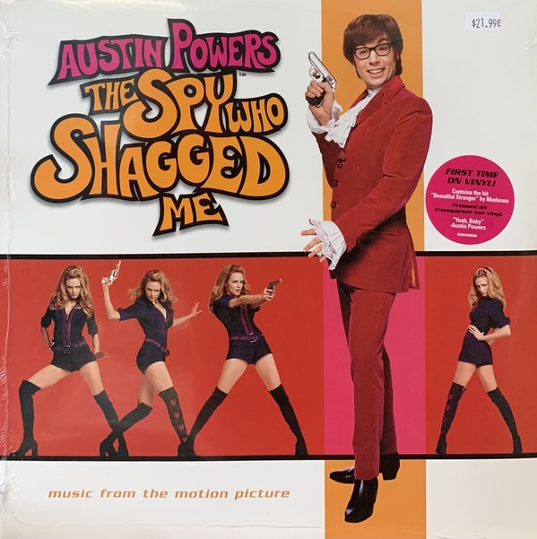 The Spy who shagged me (Music From The Motion Picture) Lp