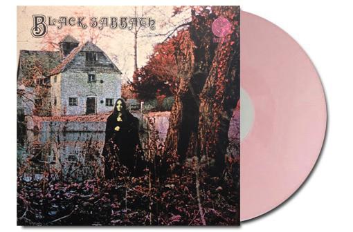 Black Sabbath Lp Ed. Limitada color rosa