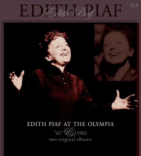 Edith Piaf at The Olympia 61 & 62 2Lp