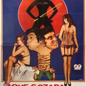 ¡Qué gozada de divorcio! Cartel original 1981