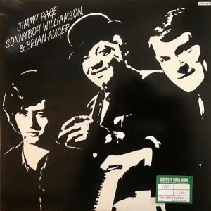 Jimmy Page, Sonny Boy Williamson, & Brian Auger Lp Segunda mano