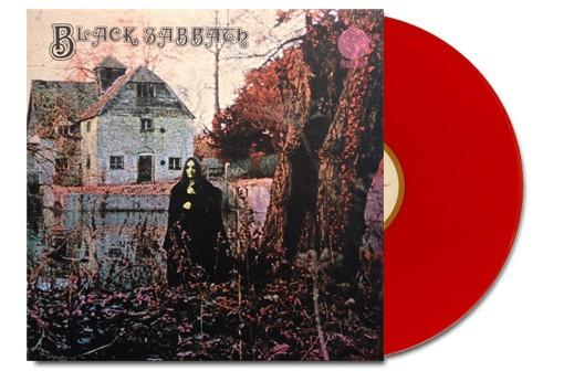Black Sabbath Lp Ed. Limitada color rojo