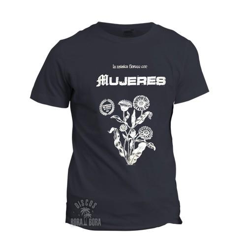 Camiseta MUJERES azul marino
