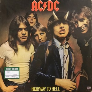 Highway to hell Lp Segunda mano
