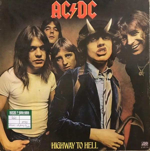Highway to hell Lp Segunda mano