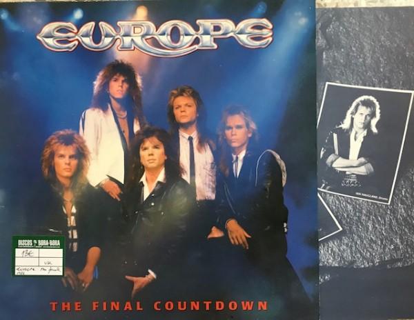 The Final Countdown Lp Segunda mano