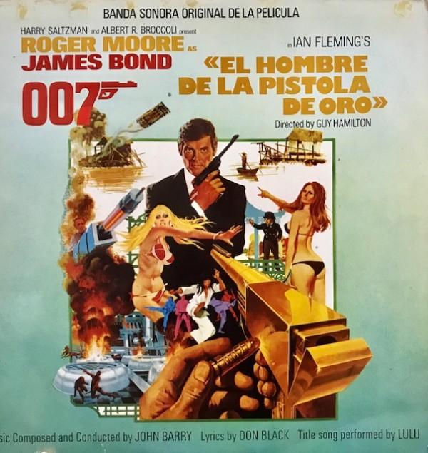 """James Bond 007: """"El Hombre de la pistola de oro"""" (Banda sonora original de la película) Lp Segunda mano"""