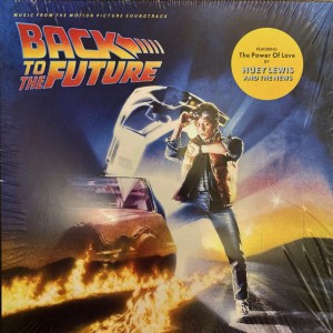 Music from the Motion Picture Soundtrack Back to the Future Lp