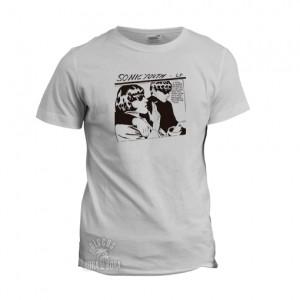Camiseta Sonic Youth blanca