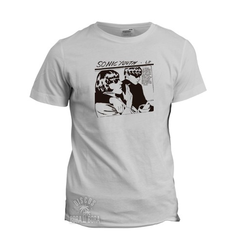 Camiseta Sonic Youth blanca