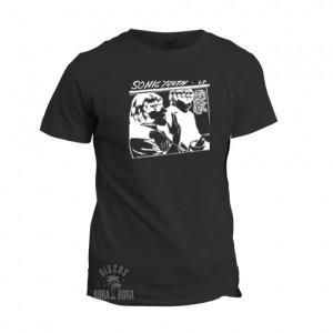 Camiseta Sonic Youth negra