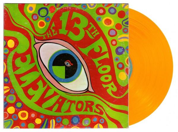 The Psychedelic Sounds of The 13th Floor Elevators Lp Ed. Limitada vinilo color naranja