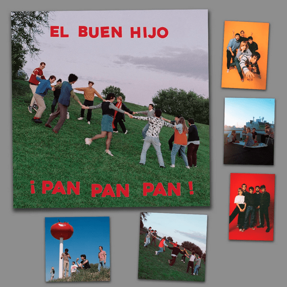 ¡Pan Pan Pan! Lp + Postales