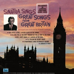 Sinatra sings great songs from Great Britain Lp