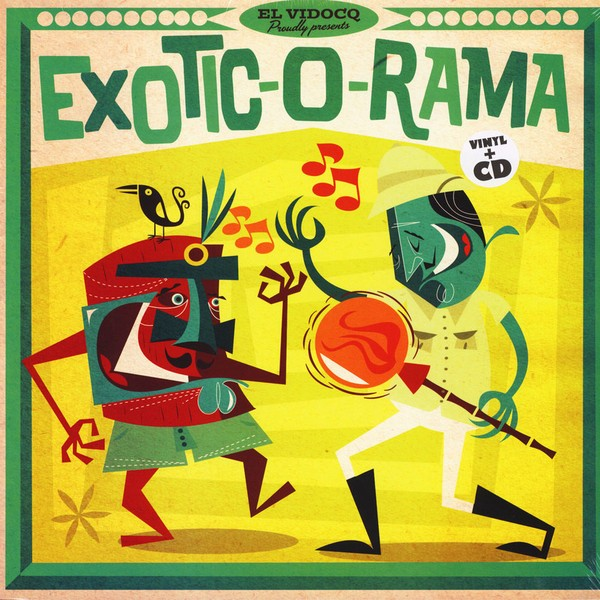 Exotic-O-Rama Vol. 1 Lp+Cd