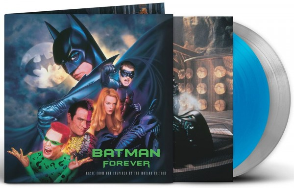Batman Forever (Original music from the motion picture) Lp Ed. Especial