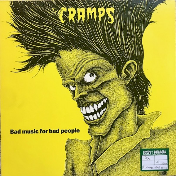 Bad music for bad people Lp Segunda mano