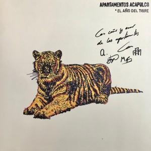 *El Año del Tigre Lp FIRMADO